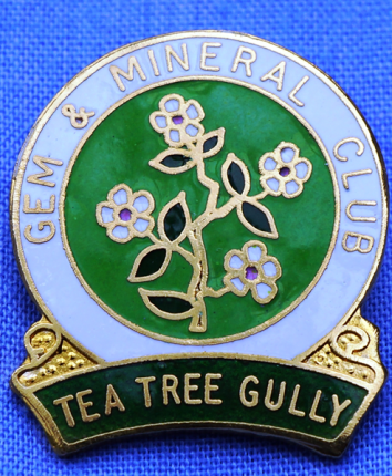 TTGGMC members badge - Tea Tree flowers