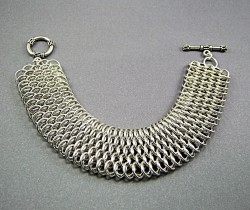 Augie's Silver Chainmaille 01