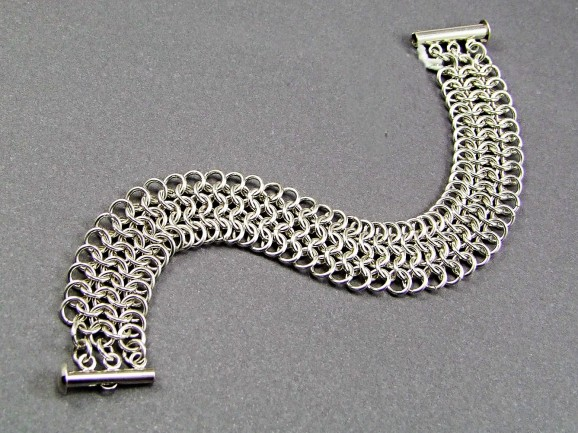 Augie's Silver Chainmaille 03