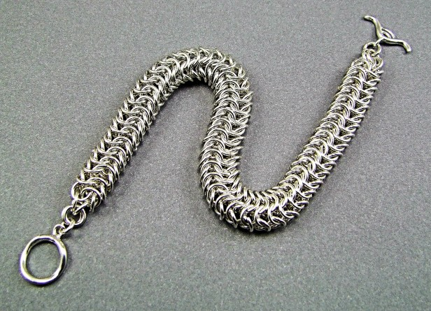 Augie's Silver Chainmaille 08