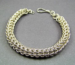 Augie's Silver Chainmaille 11