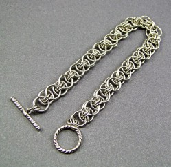 Augie's Silver Chainmaille 12