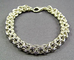 Augie's Silver Chainmaille 13